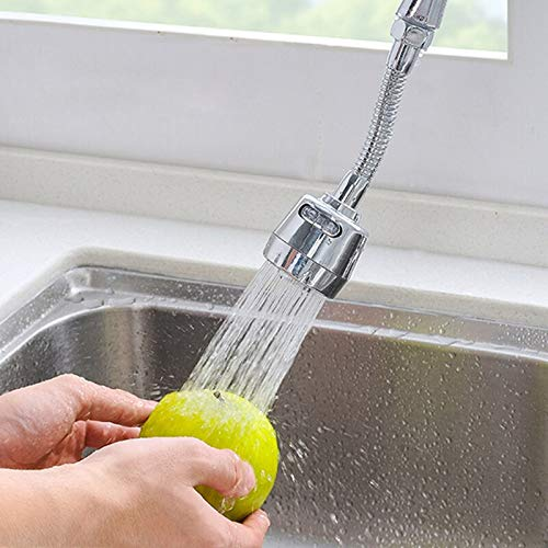 Best Design Stainless Steel Faucet Extender Sink Le Extension Wash Home Bathroom, Laundry Sink Faucet - Kitchen Faucet, Kitchen Faucet Replacement Spray Head, Faucet Strainer, Swivel Spray Faucet