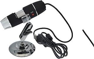 المجهر/المكبر 50-500 مرات المجهر الرقمي يده المجهر الرقمي USB و الوقوف للالتقاط الصور والصور، لعرض الطوابع، العملات المعدن...
