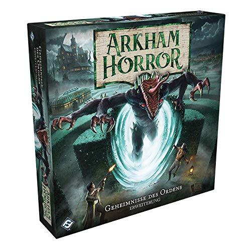 Asmodee Arkham Horror 3. Edition - Geheimnisse des Ordens, Erweiterung, Expertenspiel, Deutsch