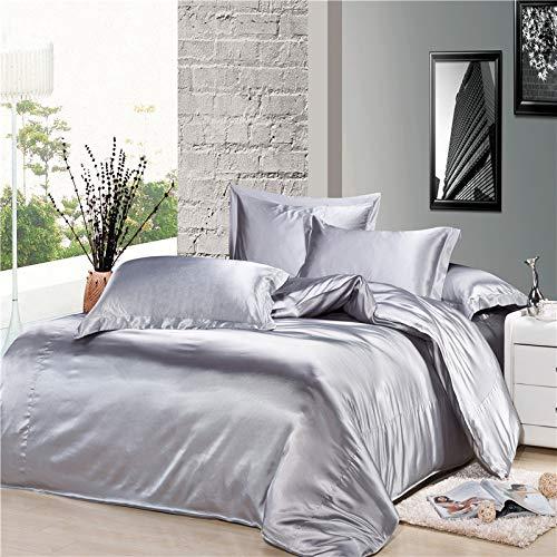 Reliable Bedding Silk Satin Sheets Set   Silk ...