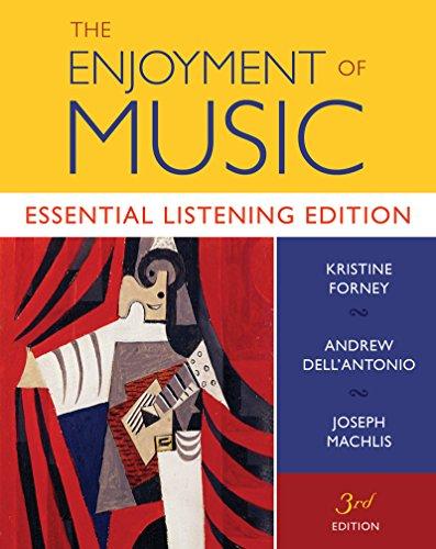 The Enjoyment of Music: Essential Listening Edition (Essential Listening Edition, Third Edition)