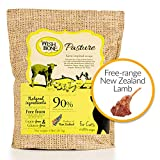 Wishbone Pasture Grain Free and Gluten Free Cat Food, Made from New Zealand Lamb Dry Cat Food, All Natural Dry Cat Food, High Protein, Minerals and Taurine Dry Cat Food, For All Cat Life Stages,4lb