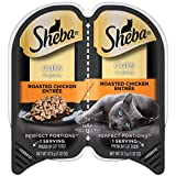 Sheba Perfect Portions Wet Cat Food Cuts In Gravy Roasted Chicken Entrée, (24) 2.6 Oz. Twin-Pack...