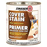 Zinsser 03504 Cover Stain Interior/Exterior Oil Primer Sealer, 1-Quart, White