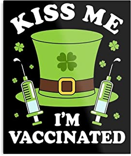 I Four Vaccinated Vaccination Leaf Vaccine from M Pro Clover Lucky Me This St Trend Hot Categories is Kiss S Patrick of Aw...