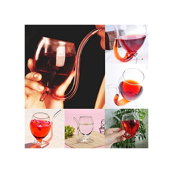 300ml Creative Vampire Filter Red Wine Glass Clear Juice Cup For Whiskey Port Wine Cocktail Sippers Glassware