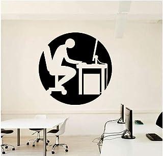 Qinyubing Bureau Bureau Décor De Bureau Travailleur Home Stickers Inspirer Motivation Stickers Muraux Chambre Stickers Mur...
