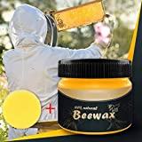 Biaoyun Wood Seasoning Beewax - Traditional Beeswax Polish for Wood & Furniture, All-Purpose Beewax for Wood Cleaner and...