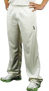 Kookaburra Pro Players Cricket Trouser Mens Junior Boys Whites Cream UK