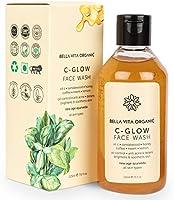 Bella Vita Organic Vitamin C Face Wash For Oily to Normal Skin women & men, Hydration, Brightening, Pore Cleansing,...