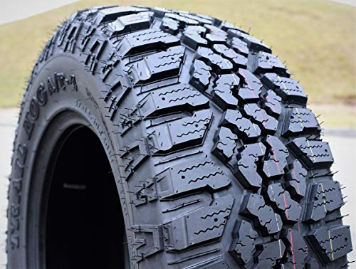 Kanati Trail Hog A/T-4 All-Terrain Radial Tire-LT37X12.50R18 128Q LRE 10-Ply