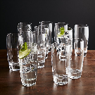 Otis Highball Glass in Drinking Glasses + Reviews | Crate and Barrel