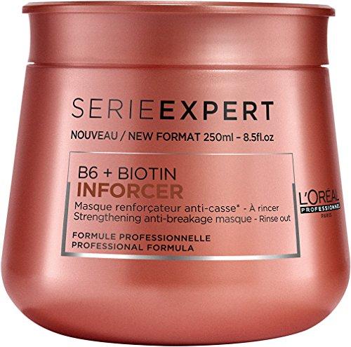 L'Oréal Professionnel Serie Expert Inforcer Maske, Stärkende Maske gegen Haarbruch, 1er Pack (1 x 250 ml)