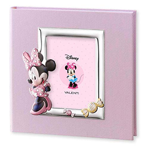 Disney Baby Album Photo 30x30 Rose Minnie Mouse by Valenti Argenti
