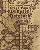 Role Playing Game Graph Paper Dungeon Notebook 200 Quad Lined Pages: A Handy Journal For Sketching & Exploring Dangerous Locales For Adventurers and Game Masters