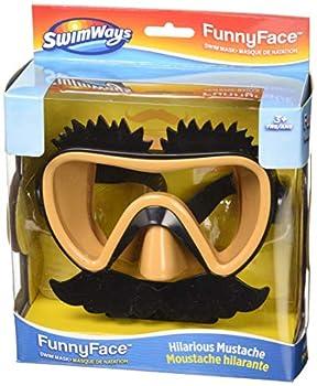 SwimWays 6047310 Swim Ways Funny Face Swim Mask-Mustache Null