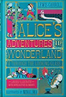 Alice's Adventures in Wonderland (Illustrated with Interactive Elements): & Through the Looking-Glass (Harper Design Classics)