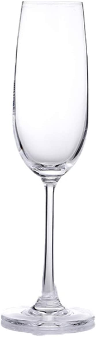 Fashionable Creative Lead-Free Goblet Champagne Regular store Glass 6 Lead-Fr Set Party of