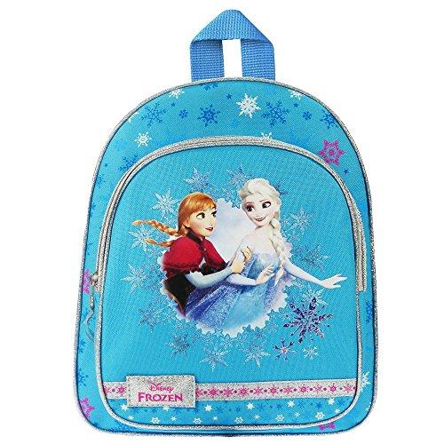 La Reine des Neiges Anna & Elsa Ice Bleu | Enfants Sac à Dos Fille Poche