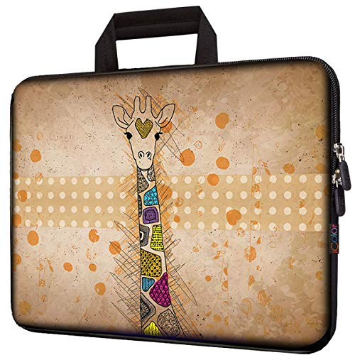 icolor 11.6' 12' Laptop Bag Case 12.2 inch Neoprene Protection Notebook Tablet Computer PC Carrying Sleeve Cover Pouch