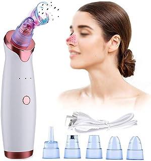 Blackhead Remover, Blackhead Remover Pore Vacuum Cleaner Black Dot Acne Pimple Removal Vacuum Suction Facial Dermabrasion ...