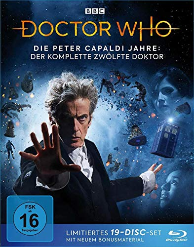 Doctor Who - Die Peter Capaldi Jahre: Der komplette 12. Doktor (Limited Edition) (21 DVDs)