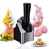 ZJYX Home Ice Cream Maker, Mini congelador de Servicio de Fruta Totalmente, Máquina de Yogurt, Sorbete y Helado, para la Cocina casera de Bricolaje