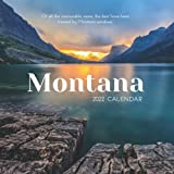 """Montana 2022 Calendar: From January 2022 to December 2022 - Square Mini Calendar 7x7"""" - Small Gorgeous Non-Glossy Paper"""
