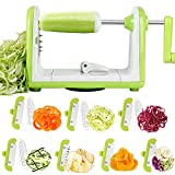 Vegetable Spiralizer Sedhoom 7 Blade Spiralizer...