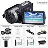 Cámara Video Cámara Videocámara 16X Zoom Digital Videocámara con 3.0'Cámara de Control Remoto LCD (Z20)