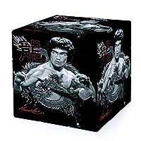 Bruce Lee 3次ルビックキューブ楽しい 立体パズル 3×3 ストレス解消 脳トレ ポップ お子様への誕生日贈り物