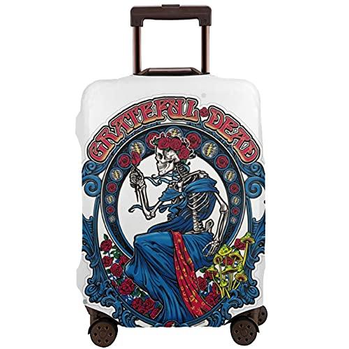 The Grateful Dead - Protector de equipaje con cremallera, blanco, 80