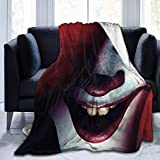JONINOT IT Pennywise Blanket Couvre-lit en Microfibre Couvre-lit 80 'x60'