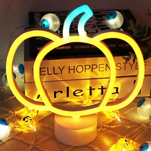Pumpkin Cute Light Halloween Night Lights,LED Pumpkin Shape Lamp Fall Table...