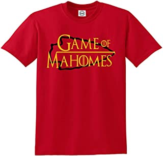 RED Kansas City Mahomes Game of T-Shirt