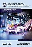 Sistema operativo, búsqueda de información: Internet/Intranet y correo electrónico. ADGG0208