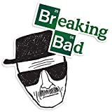 Popfunk Breaking Bad Heisenberg and Logo Collectible Stickers