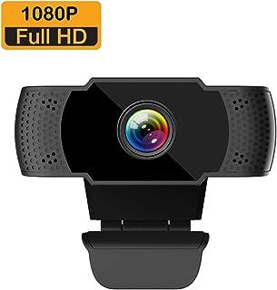 ieGeek Cámara Web Full HD 1080P con micrófono, computadora