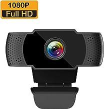 LanLan C/ámara Webams HD para Ordenador con micr/ófono de absorci/ón para Skype Android TV Web CAM