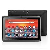 FEONAL Tablet K70 Full HD Plus 18,0 cm (7', 1024 * 600 IPS) Android 10 Tablet-PC (Quad-Core, 32GB ROM, 128GB TF, WLAN, Bluetooth) - Negro