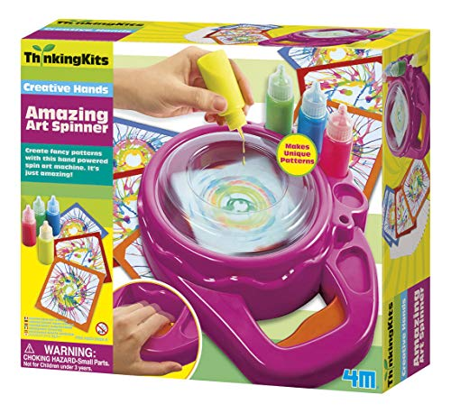 4M Amazing Art Spinner (Packaging May Vary)