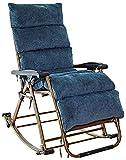 UIZSDIUZ Tumbonas Tumbonas de jardín Silla Mecedora reclinable Plegable al Aire Libre Ajustable del Asiento del Eje de balancín de Gravedad Cero con Cojines Reclinable (Color : Lla2001ty)