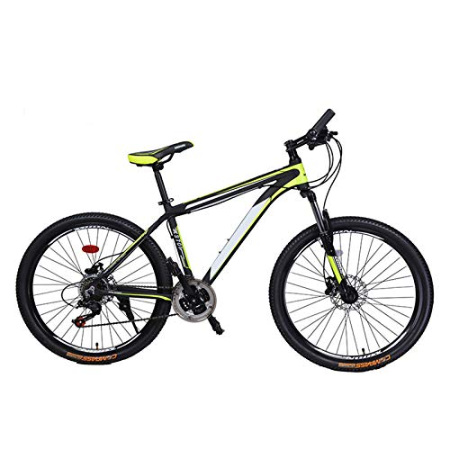 haozai Mountain Bikes,Thick And Comfortable Soft Seat,Aluminum Alloy Shock-absorbing Front Fork,21 Variable Speed System,Aluminum Alloy Paint Frame,Adult Male And Female Students Bicycle