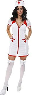 Henbrandt Sexy Krankenschwester Kostüm (Weiß)