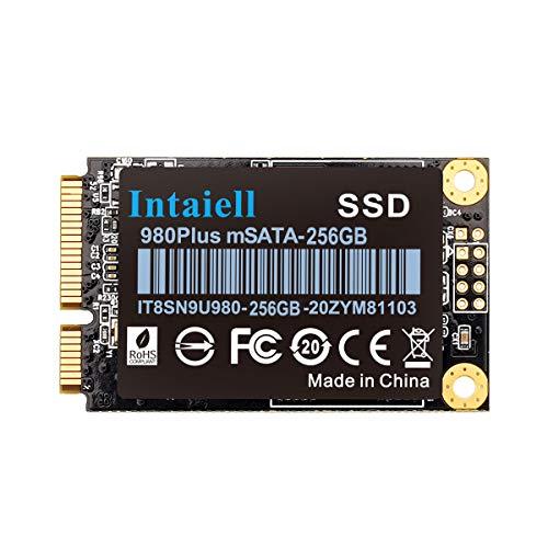 256GB mSATA SSD- 5030mm Mini SATA III 6Gb/s 3D NAND Flash Internal Solid State Drive for Gaming Computer, Notebook, Mini PC, Desktop PC (256GB)