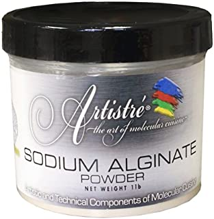 Molecular Gastronomy Sodium Alginate, Artistre - 1 x 1LB