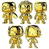 Funko Pop! Marvel: Marvel Studio 10 Gold Chrome Vinyl Figure Collection #1, 3.75' (Set of 5)