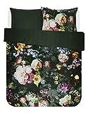 ESSENZA Bettwäsche Fleur Blumen Pfingstrosen Tulpen Baumwollsatin Grün