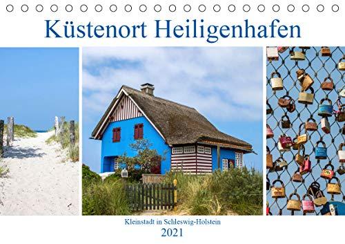 Küstenort Heiligenhafen (Tischkalender 2021 DIN A5 quer)