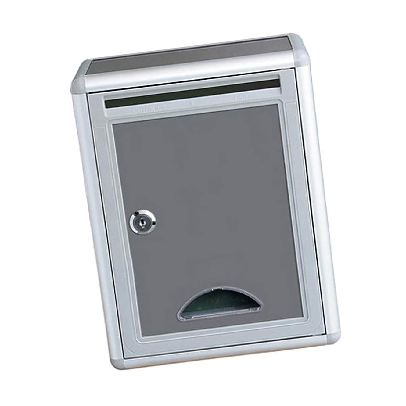 感謝祭銀メイトB Baosity 屋外 セキュリティ ロックボックス レターボックス 提案ボックス 新聞 ボックス